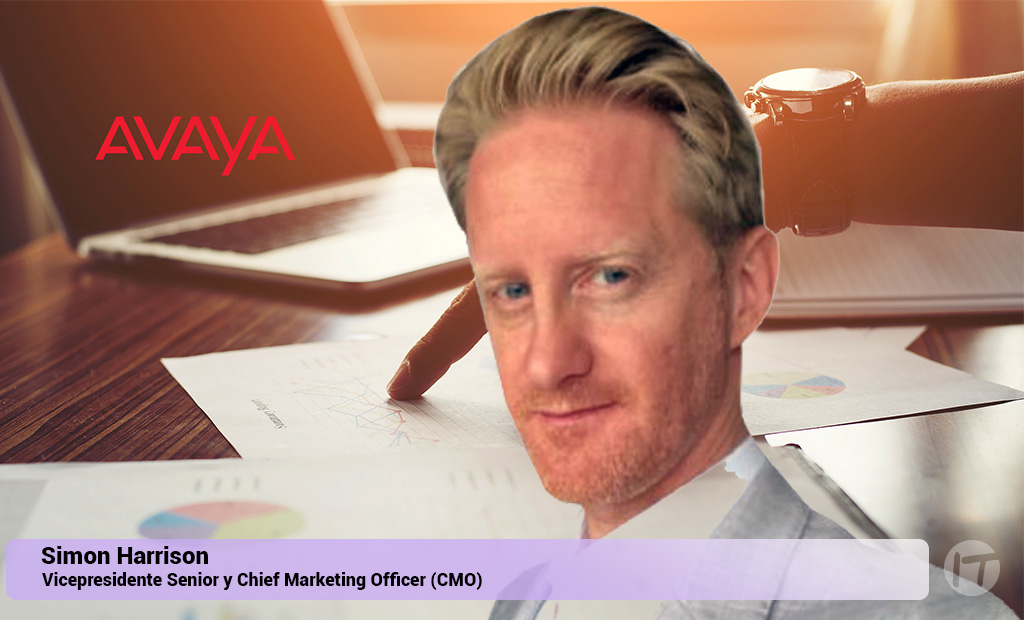 Avaya Nombra a Simon Harrison Chief Marketing Officer