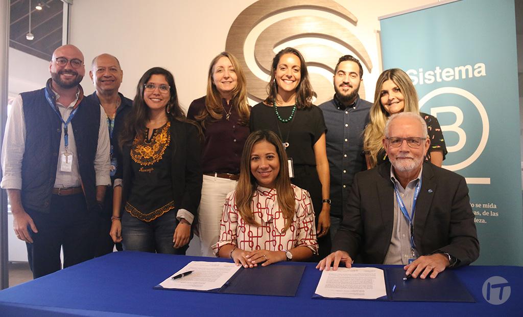 Sistema B y la fundación Ciudad del Saber firman acuerdo de colaboración y trabajo conjunto