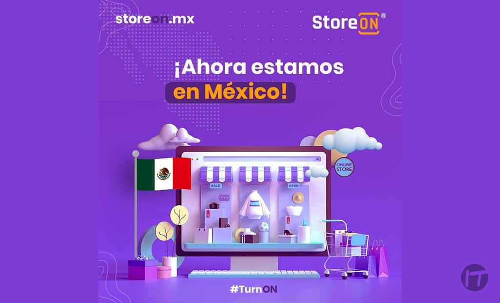 Llega a México StoreON®, solución para impulsar las ventas online de los minoristas y emprendimientos a nivel nacional e internacional