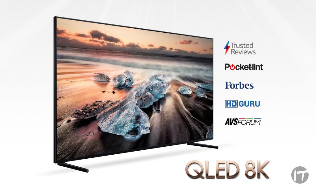 Samsung Electronics es líder mundial en el mercado de televisores por 13 años consecutivos.