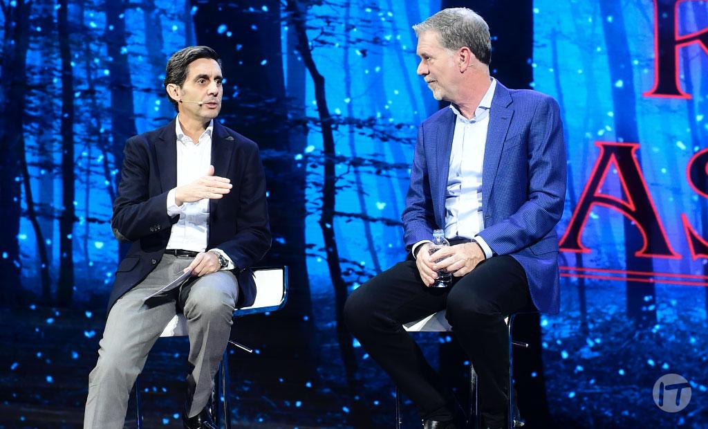 Telefónica integrará a Netflix en sus plataformas de video y televisión