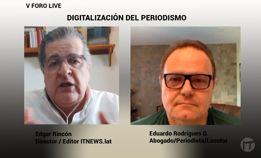 Digitalización del Periodismo - V Edición de LIVE