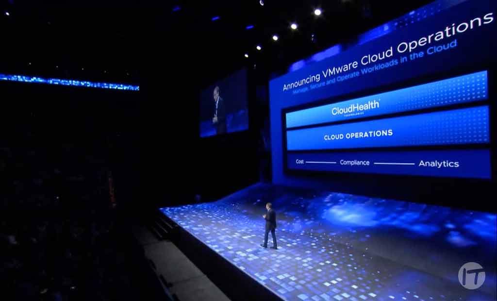 VMware anuncia la intención de adquirir CloudHealth Technologies, una plataforma global para operaciones en múltiples nubes