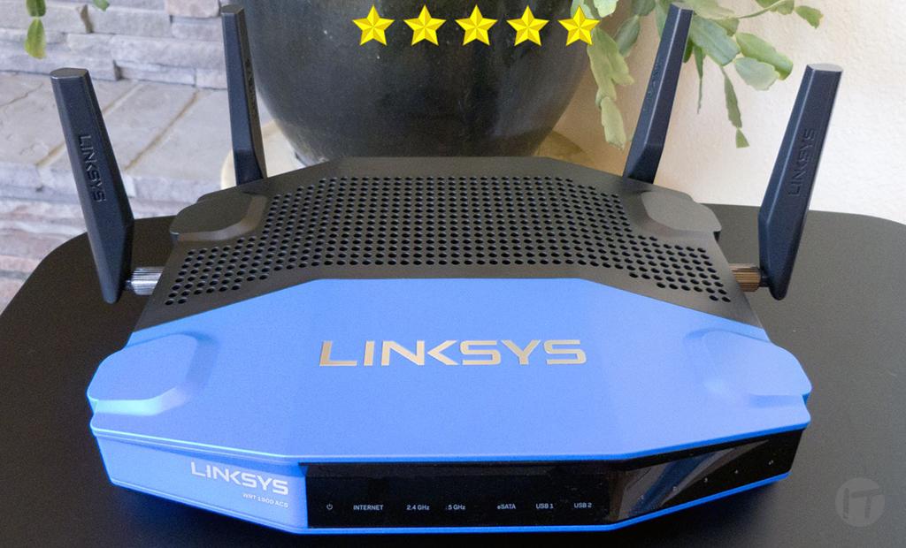 5 Estrellas para el Linksys WRT AC1900