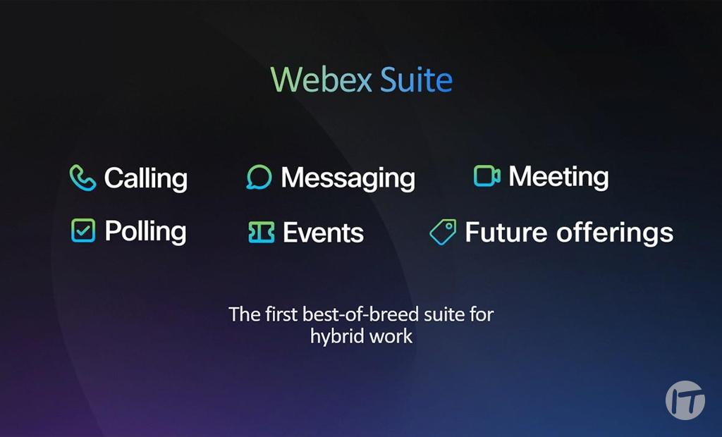 Cisco presenta las innovaciones de su plataforma Webex
