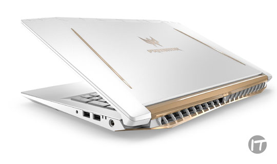 Acer presentó una bestia gaming con la nueva Notebook Predator Helios 500