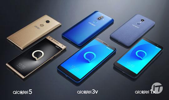 Alcatel lanza sus series 5,3 y 1 de smartphone y sus nuevos equipos IOT en Colombia