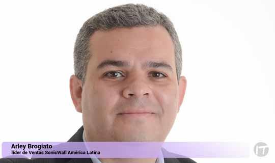 Arley Brogiato nuevo líder de Ventas para SonicWall en América Latina