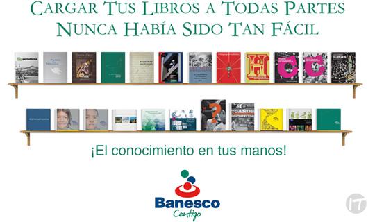 La biblioteca digital Banesco es una opción gratuita para leer
