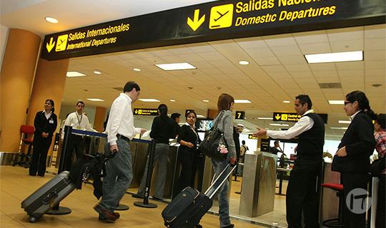 El uso de la biométrica ha llegado a los aeropuertos