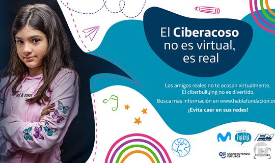 Movistar, FM Center y Fundación Habla suman nuevos aliados para continuar campaña contra el abuso infantil