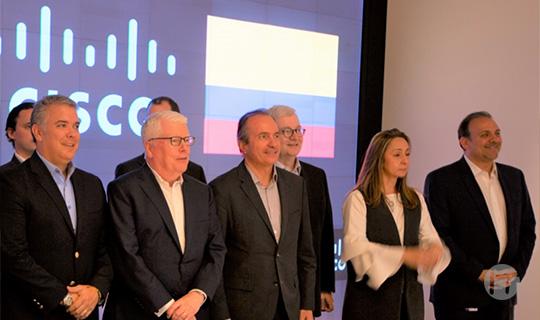 Cisco presente en la Transformación Digital de Colombia