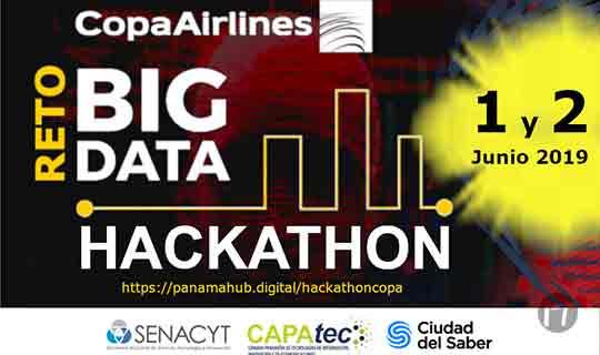 Copa Airlines invita a la desafiante experiencia del Hackathon - Reto: Big Data 2019