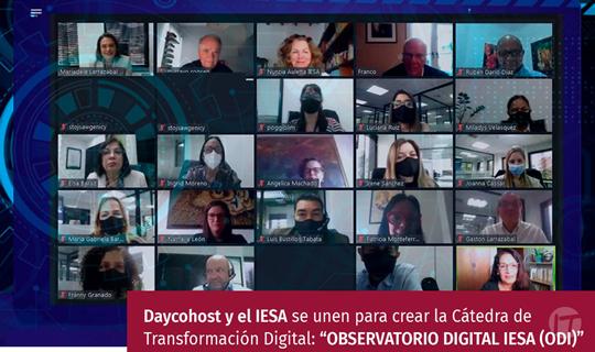 IESA y Daycohost se unen para crear el Observatorio Digital del IESA