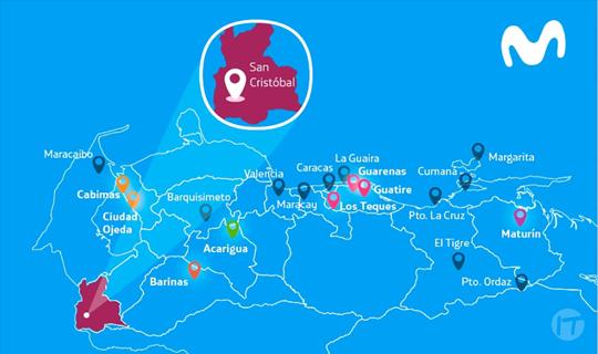 Movistar despliega tecnología 4G en la ciudad de San Cristóbal
