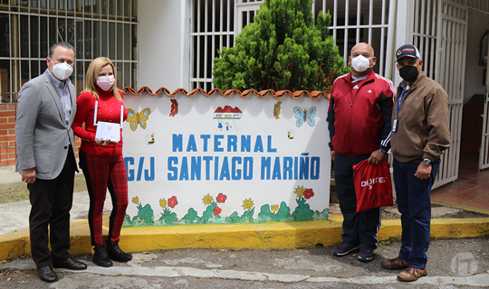 Digitel ofrece conectividad 4G LTE a 30 escuelas en la Gran Caracas