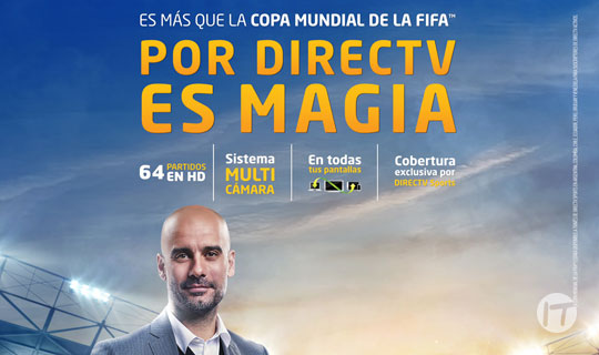 DIRECTV anuncia la transmisión de todos los partidos de la Copa Mundial de la FIFA 2018 en Realidad Virtual  en Latinoamérica