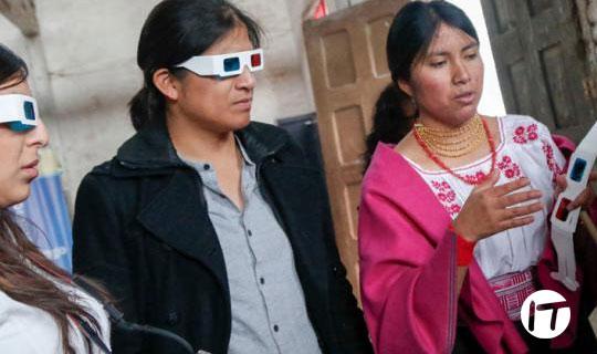 La tecnología también se inspira en la cultura en Otavalo, Imbabura