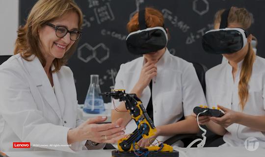 Lenovo presenta tecnología inteligente para la educación