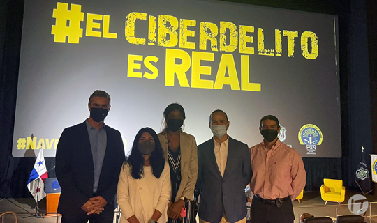 """Encuentra24 realiza alianza con el Ministerio Público y Policía Nacional en lanzamiento de """"El ciberdelito es real"""""""