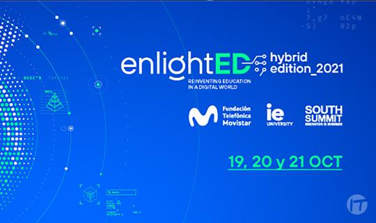 Fundación Telefónica Movistar, IE University y South Summit convocan la 4ª edición de enlightED