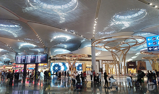 Innovadora tecnología robusta se implementa en el aeropuerto de Estambul