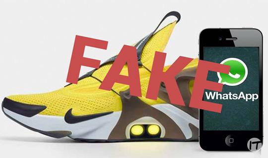ESET advierte de engaño a través de WhatsApp que hace creer que Adidas está donando zapatillas