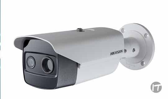 Nueva cámara Térmica Biespectral tipo bala para la detección de incendios antes de que ocurran