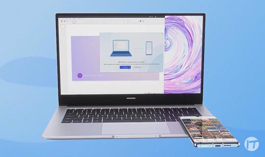 Huawei Share, la herramienta ideal para trabajar o estudiar desde casa con los nuevos MateBook D14 y D15