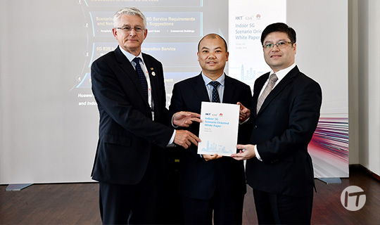 Huawei, HKT y GSA lanzan conjuntamente el White Paper orientado a escenarios 5G para interiores
