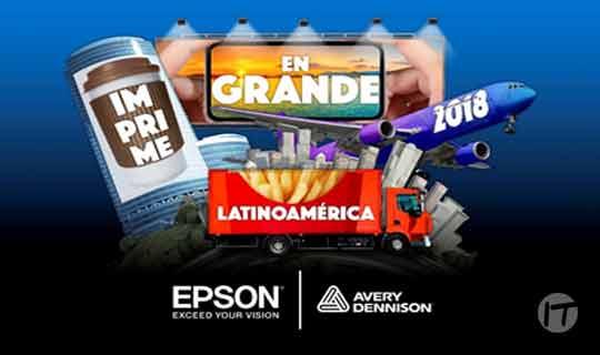 """Epson y Avery Dennison abren el concurso """"Imprime en grande"""" en Latinoamérica"""