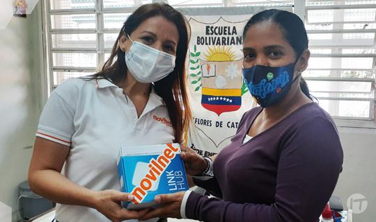 Movilnet inicia Plan Internet para las Escuelas en Gran Caracas