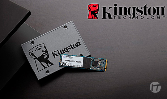 Las unidades SSD empresariales de Kingston alcanzan nivel VMware Ready™
