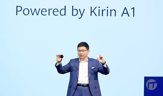 Huawei lanza los nuevos Freebuds 3 y su primer procesador insignia 5G en IFA 2019
