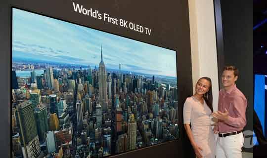 LG Presenta el primer televisor OLED 8K