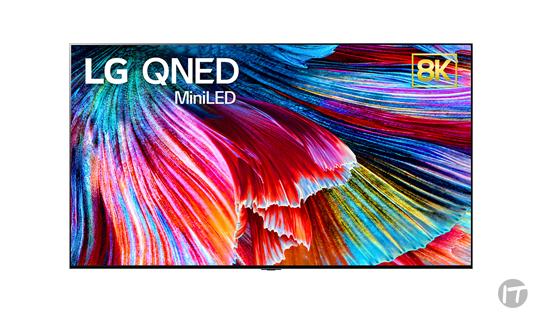 LG anuncia en el CES 2021 el primer televisor QNED miniled de la compañía