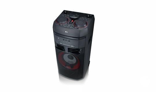 LG cambió el significado del sonido con sistemas de audio que hacen vibrar los sentidos