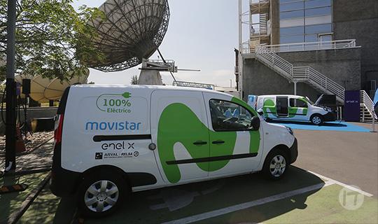 Movistar Chile se transforma en la primera telco del país en incorporar vehículos eléctricos a su flota