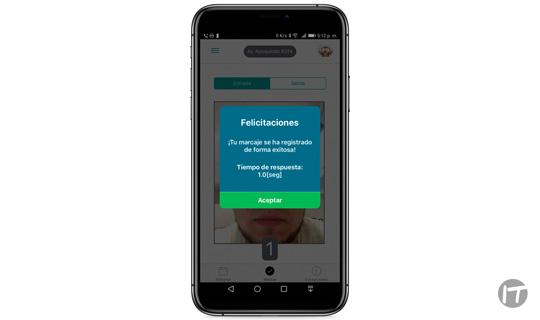 SCM desarrolló aplicación de marcaje biométrico facial en formato de app