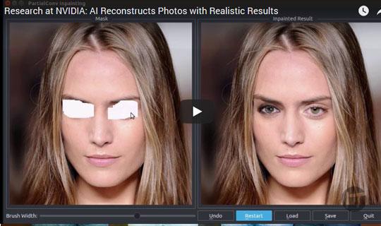 Nueva técnica de IA para imágenes reconstruye fotos con resultados realistas