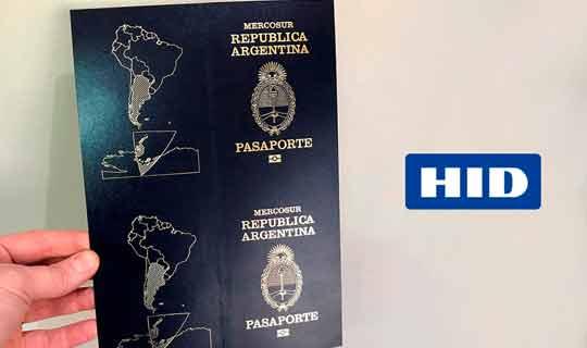Argentina confía a HID Global la nueva portada electrónica de su pasaporte