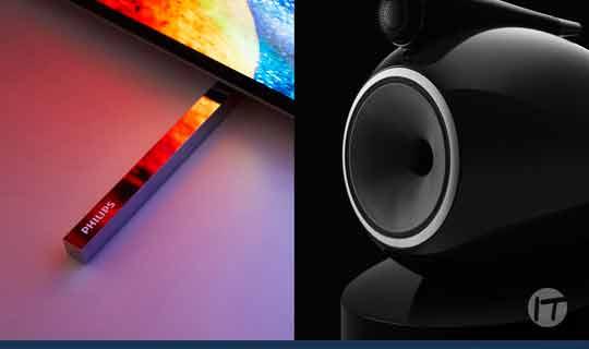 Philips TV y Bowers & Wilkins anuncian una asociación que busca la excelencia en la calidad de imagen y el sonido