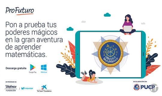 Programa Profuturo de Fundación Telefónica Movistar lanza app sin costo para aprender matemática de manera lúdica