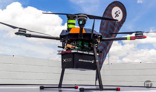 Inter Drones, una apuesta tecnológica e innovadora para poblaciones de difícil acceso en Colombia