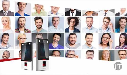 Terminal de Reconocimiento Facial DeepinGo de Hikvision