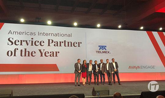 Avaya Nombra a TELMEX Socio del Año en la Categoría Servicios