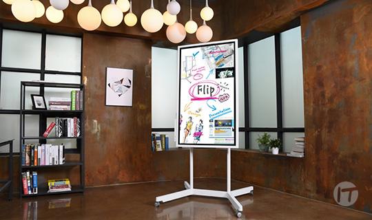 Samsung Flip llegó para revolucionar el trabajo en equipo y promover la creatividad