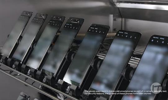 Un vistazo dentro de la revolucionaria cámara giratoria del Galaxy A80