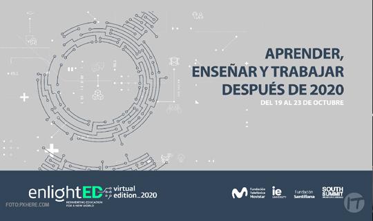 Fundación Telefónica Movistar invita a la tercera edición virtual de EnlightED