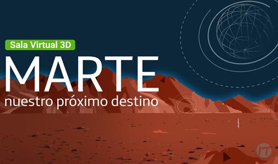 Fundación Telefónica Movistar inaugura nueva Sala Virtual de exposiciones con un viaje a Marte